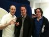 Tod, Buck and Elliott at an art show